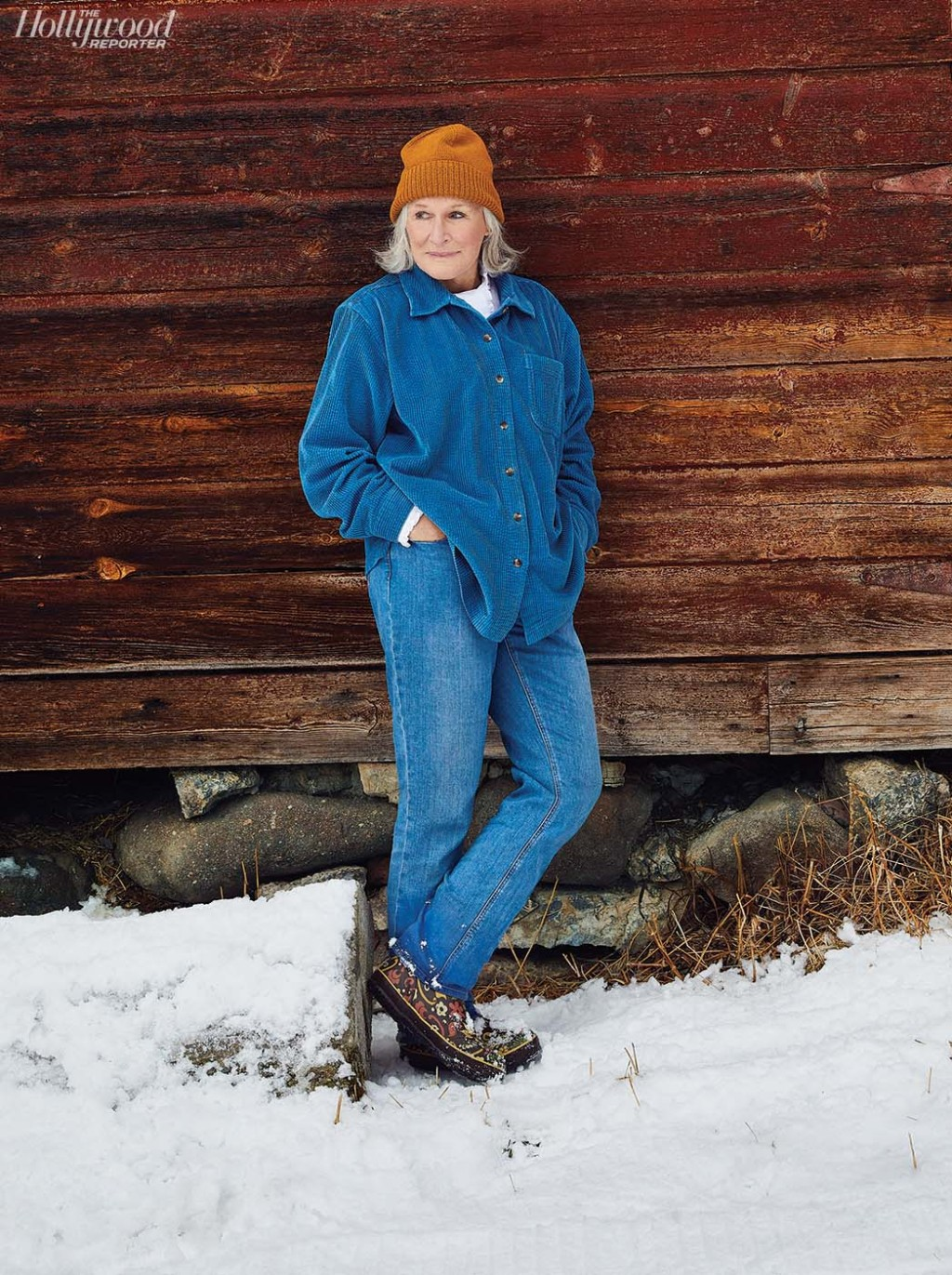 Glenn Close was photographed by Sami Drasin on Dec. 17 in Bozeman, Montana.