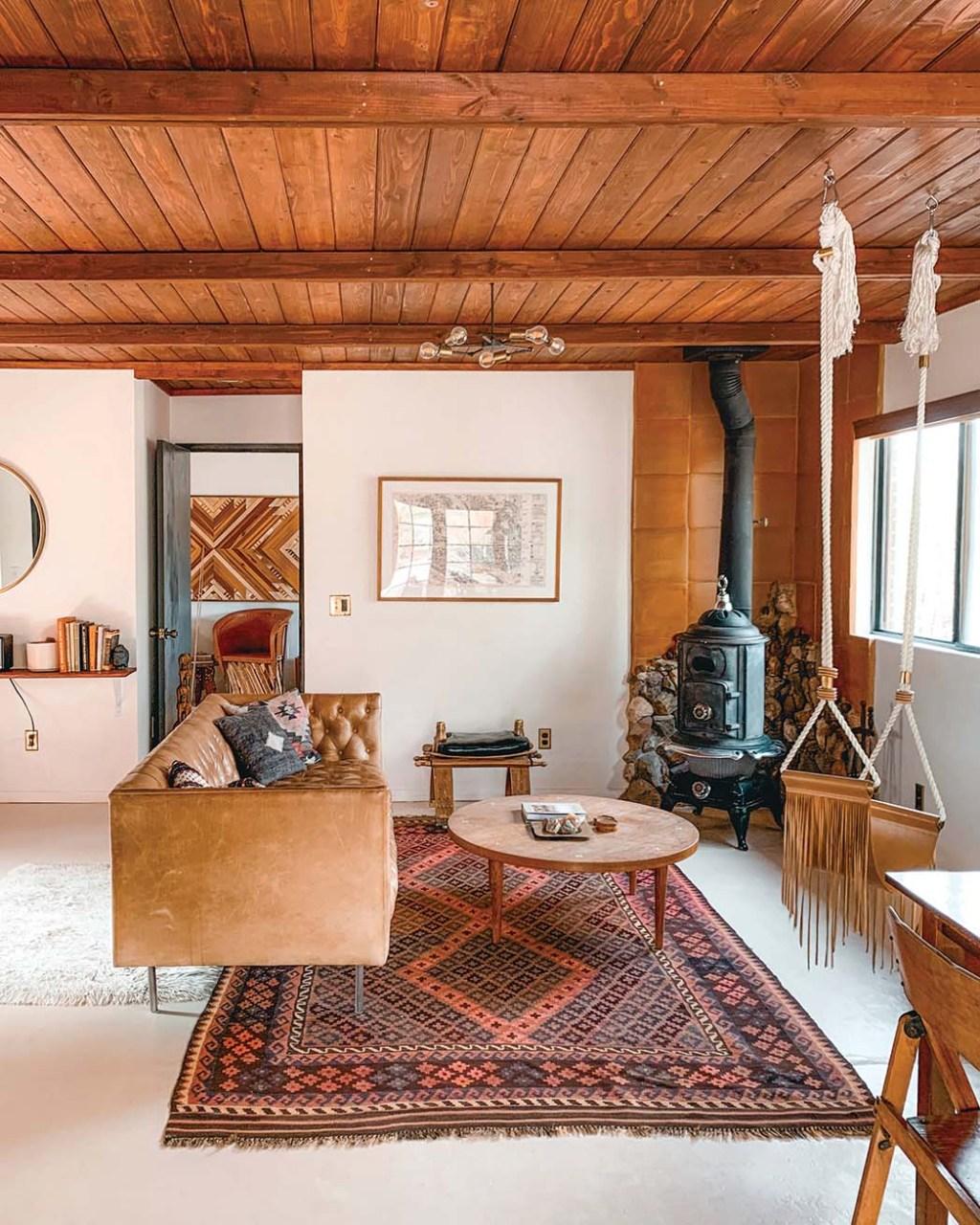 The Joshua Tree House Casita, a 1958 two-bedroom rental; $328 a night, thejoshuatreehouse.com.
