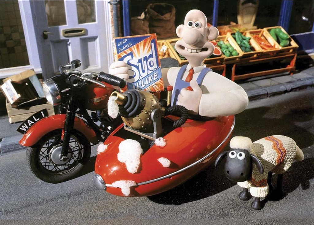 Shaun made his film debut alongside the cheese-loving Wallace in the 1995 short A Close Shave.