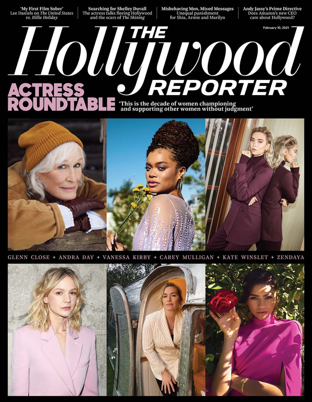 The Hollywood Reporter Issue 6 - Actress Roundtable