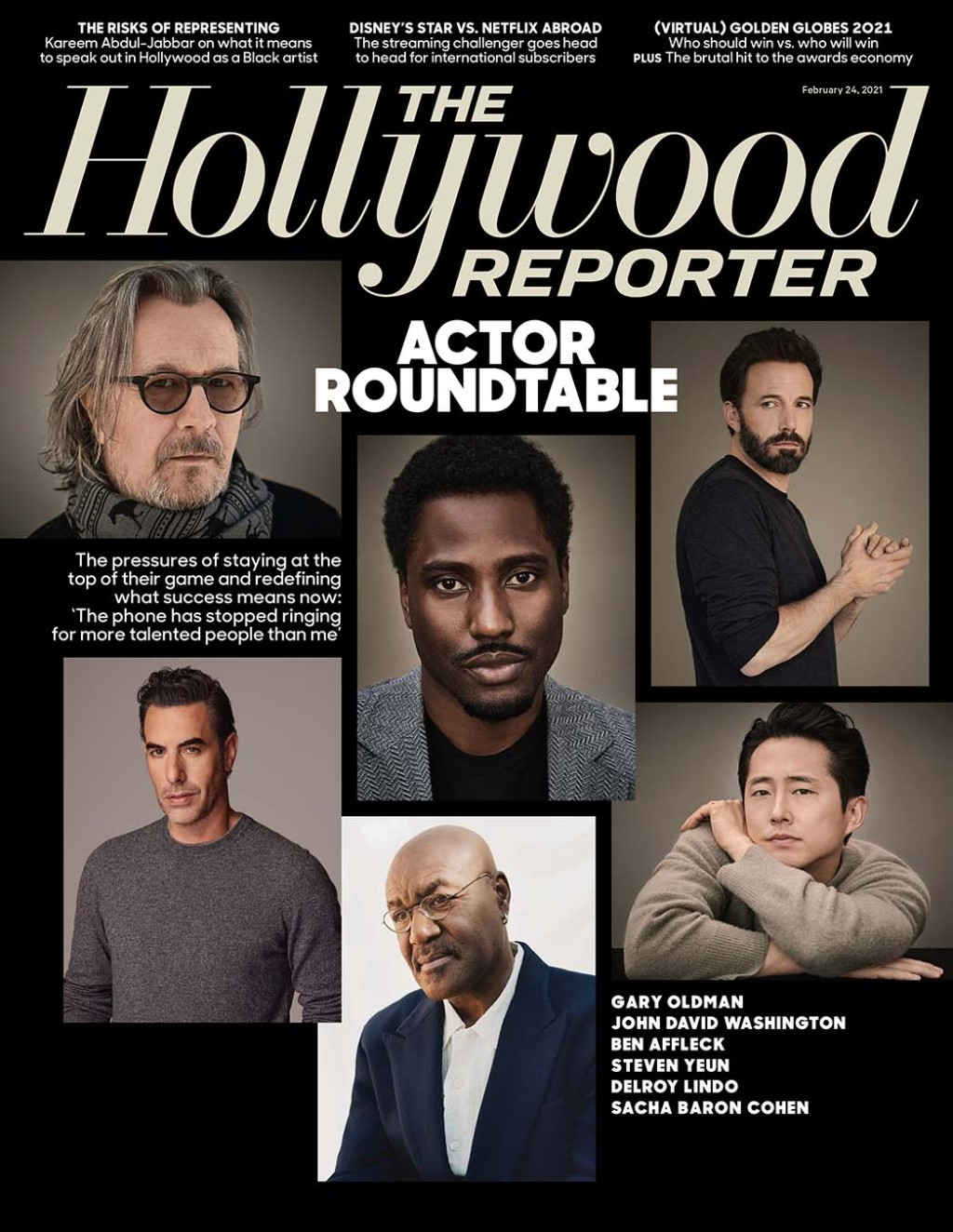 The Hollywood Reporter Issue 8 Cover