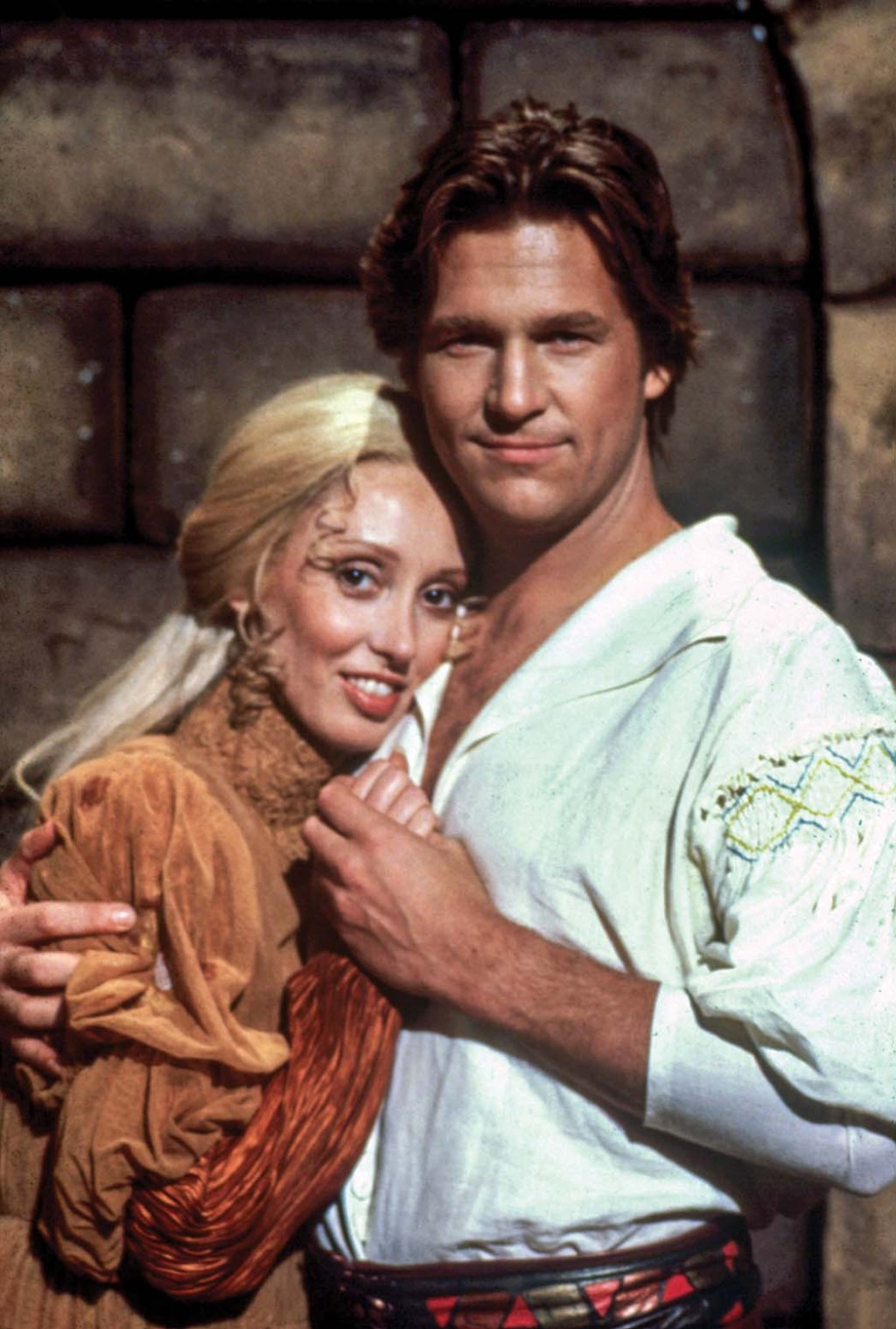 Duvall with Jeff Bridges in the Faerie Tale Theatre version of Rapunzel in 1983.