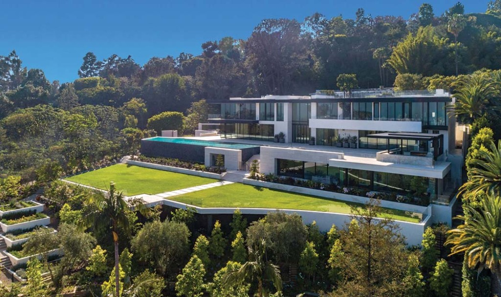 Williams & Williams' listing for Dr. Raj Kanodia's 34,000-square-foot, nine-bedroom Bel Air mansion.