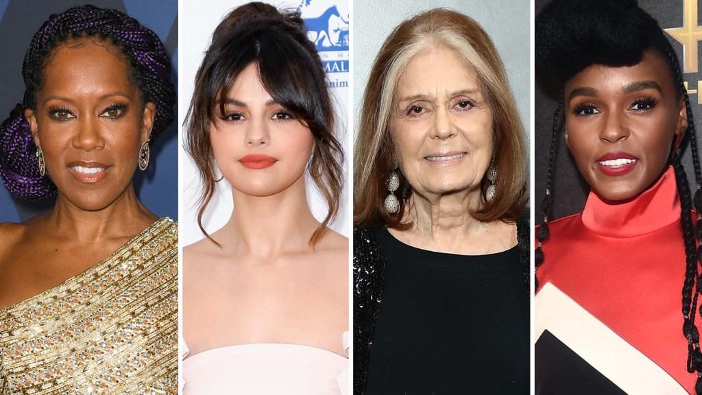 Regina King Selena Gomez Gloria Steinem Janelle Monae