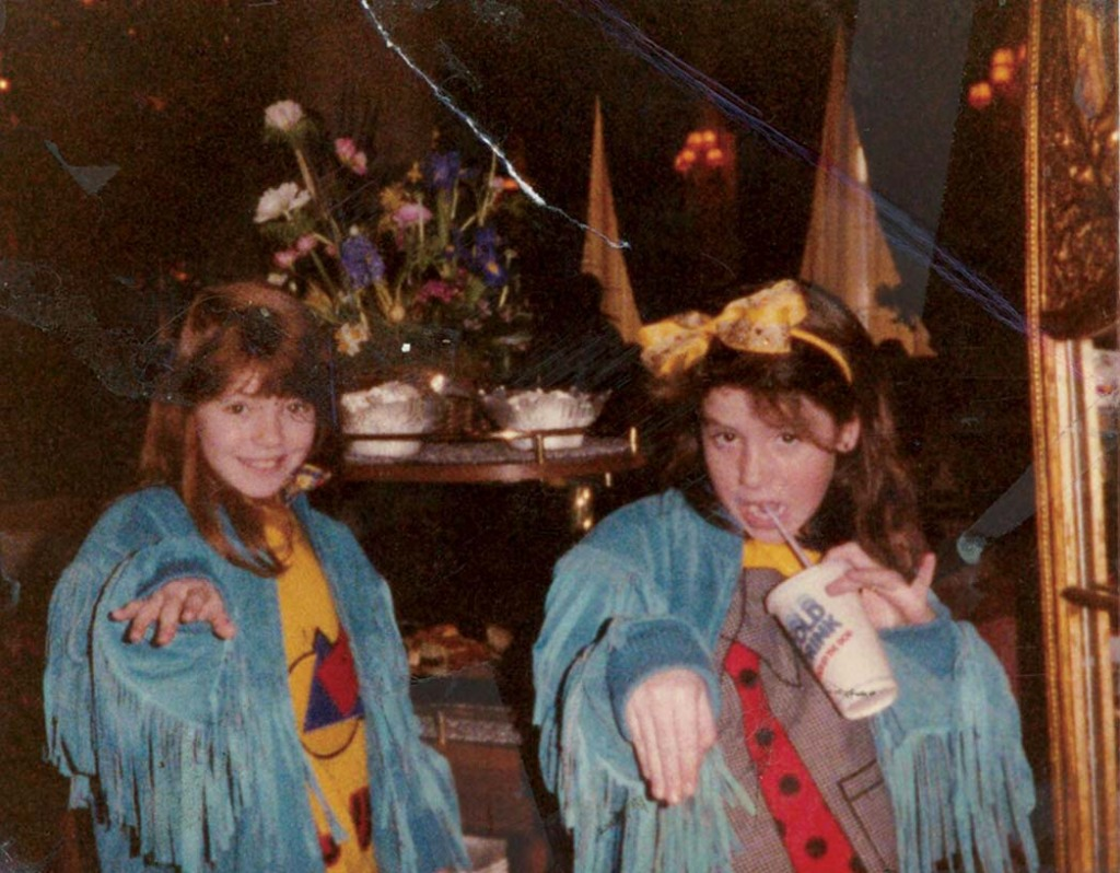 """As a kid, the actress met Jenny Lewis (left), who went on to fame as a singer-songwriter: """"She's still one of the closest people in my life."""""""