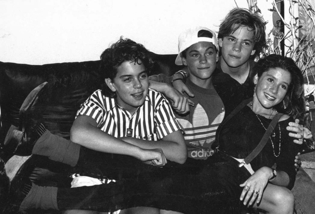 With (from left) Alexander Polinsky (Charles in Charge), Green and Stephen Dorff.