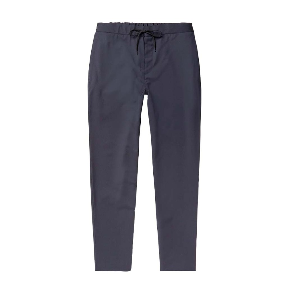 A.P.C. wool drawstring trousers; $335, mrporter.com