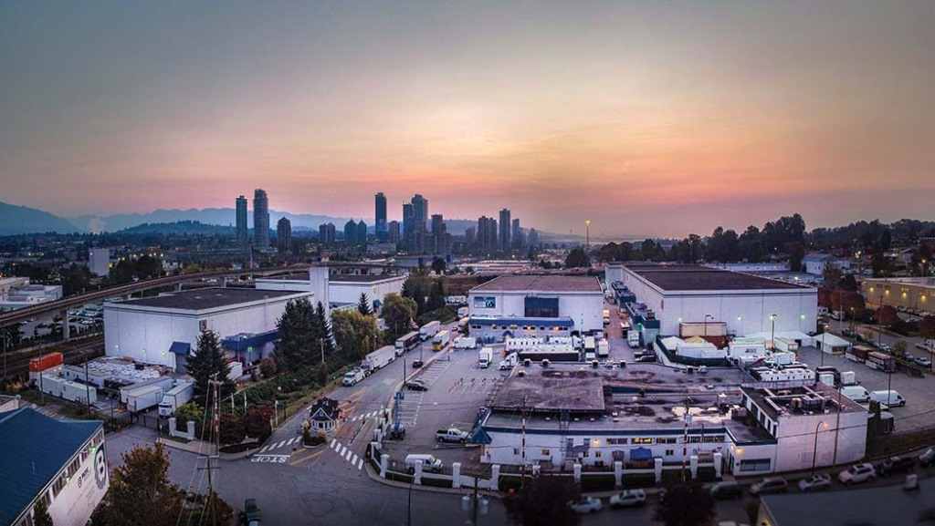 Vancouver Film Studios has 12 soundstages totaling approximately 240,000 square feet of space.