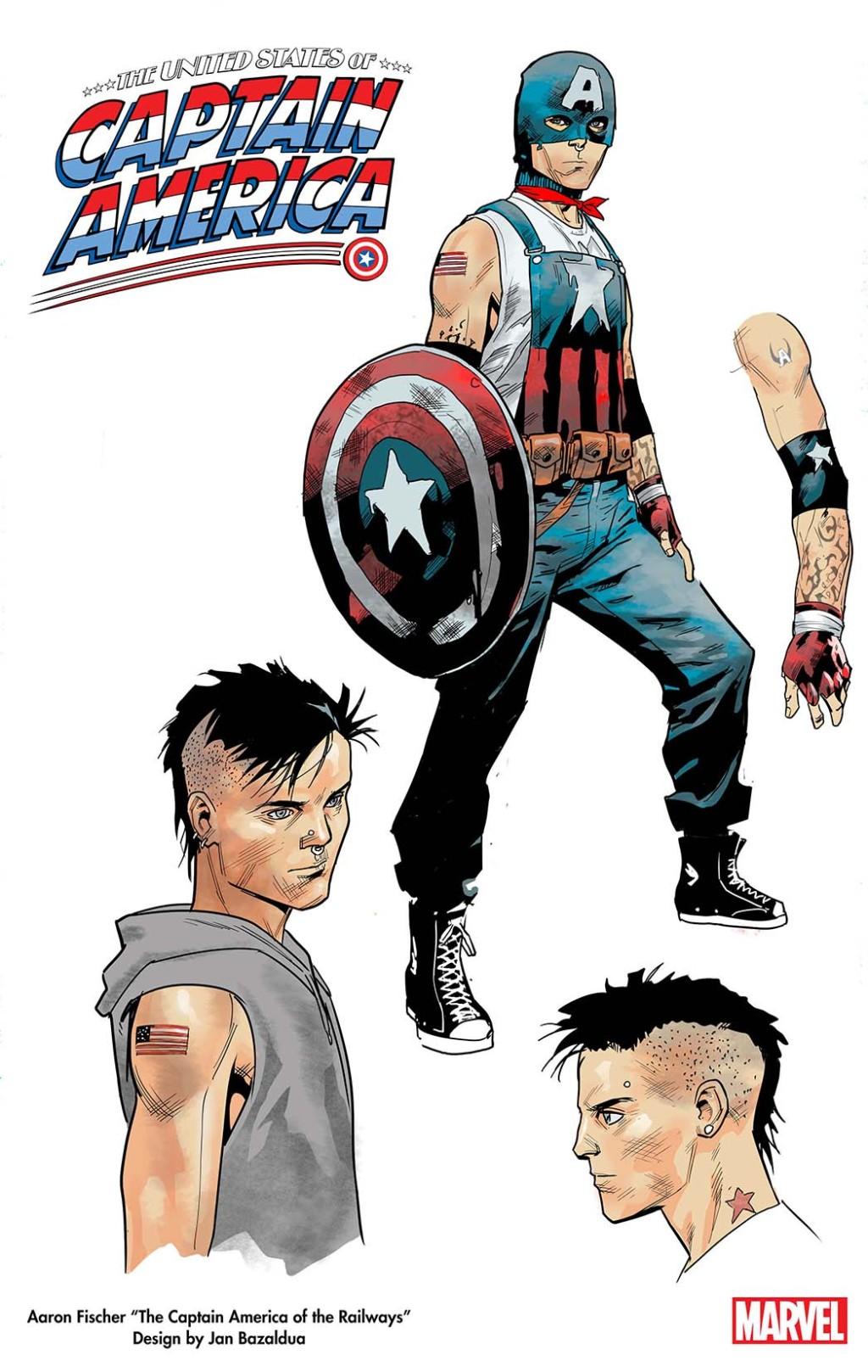 The United States of Captain America Marvel Comics