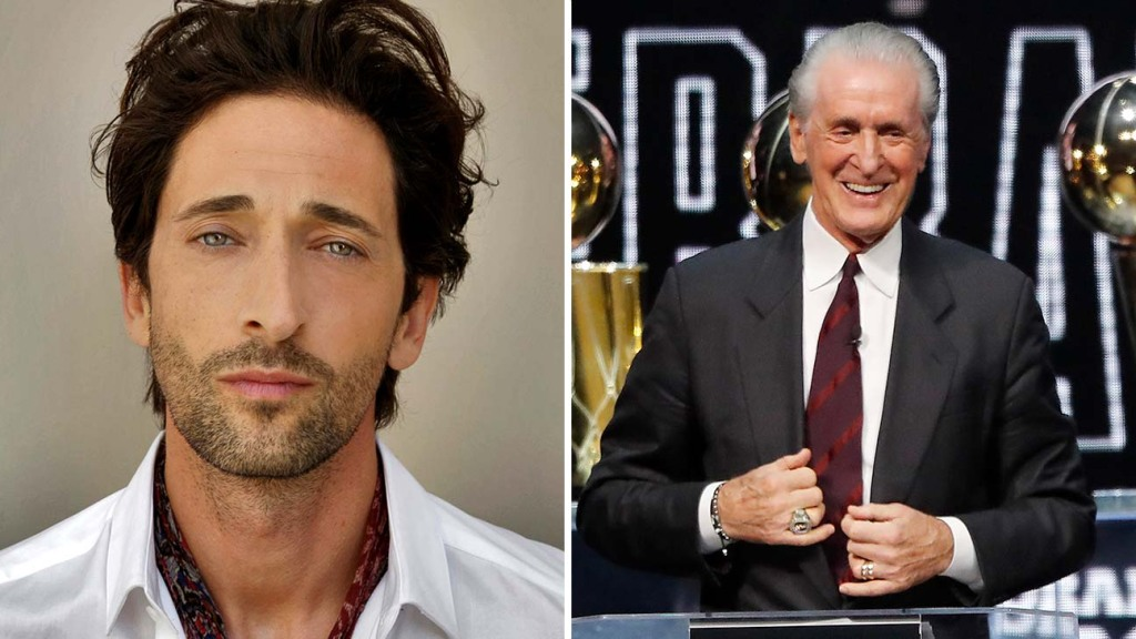 Adrien Brody and Pat Riley Casting Announcement