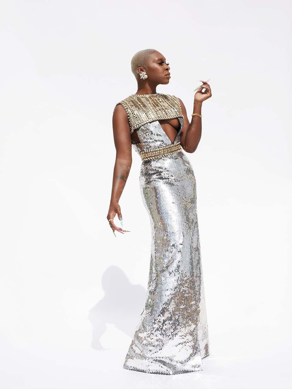 Cynthia Erivo at the Grammy Awards
