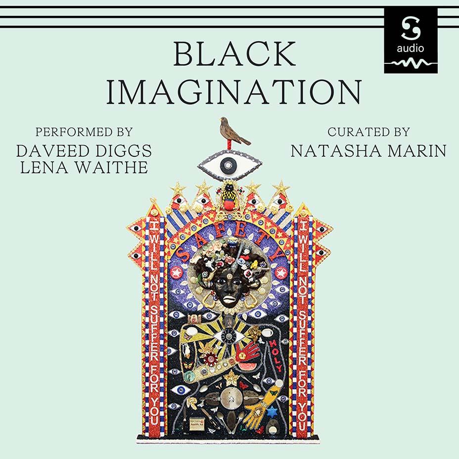 'Black Imagination' by Natasha Marin Audiobook Cover