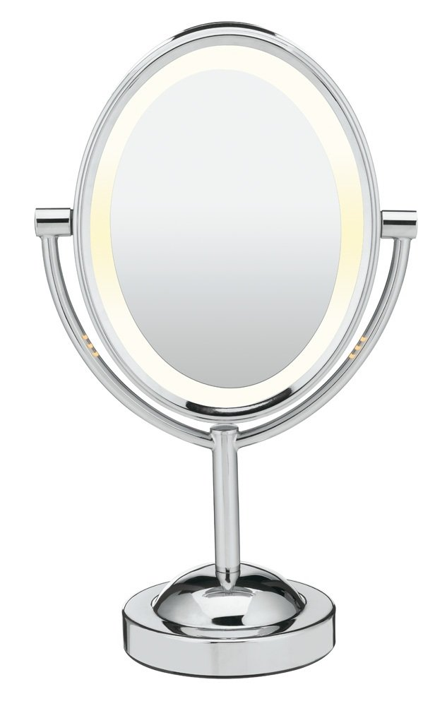Conair Doubled-Sided Lighted Makeup Mirror