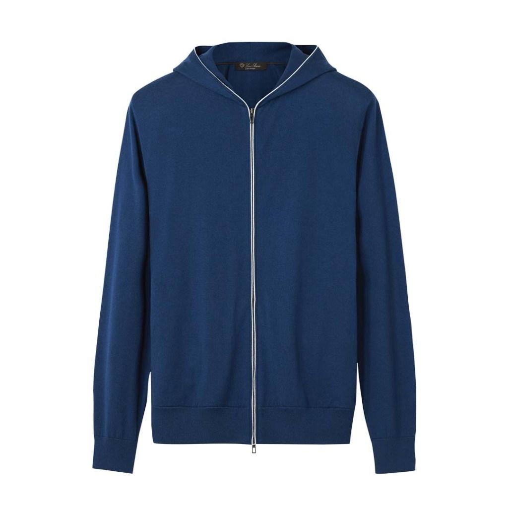 Loro Piana cotton- and-cashmere hoodie; $2,425, loropiana.com