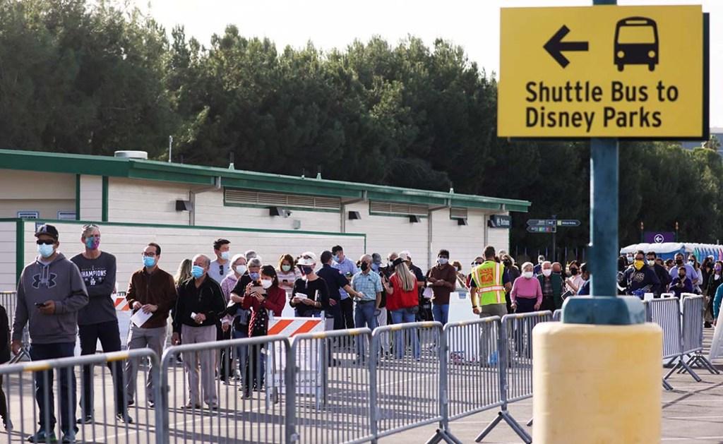 Disneyland COVID-19 Vaccine Mega-Site