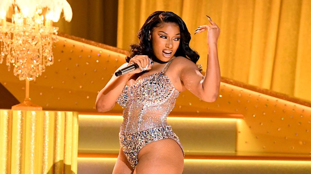 Megan Thee Stallion performs onstage 63rd Annual GRAMMY Awards
