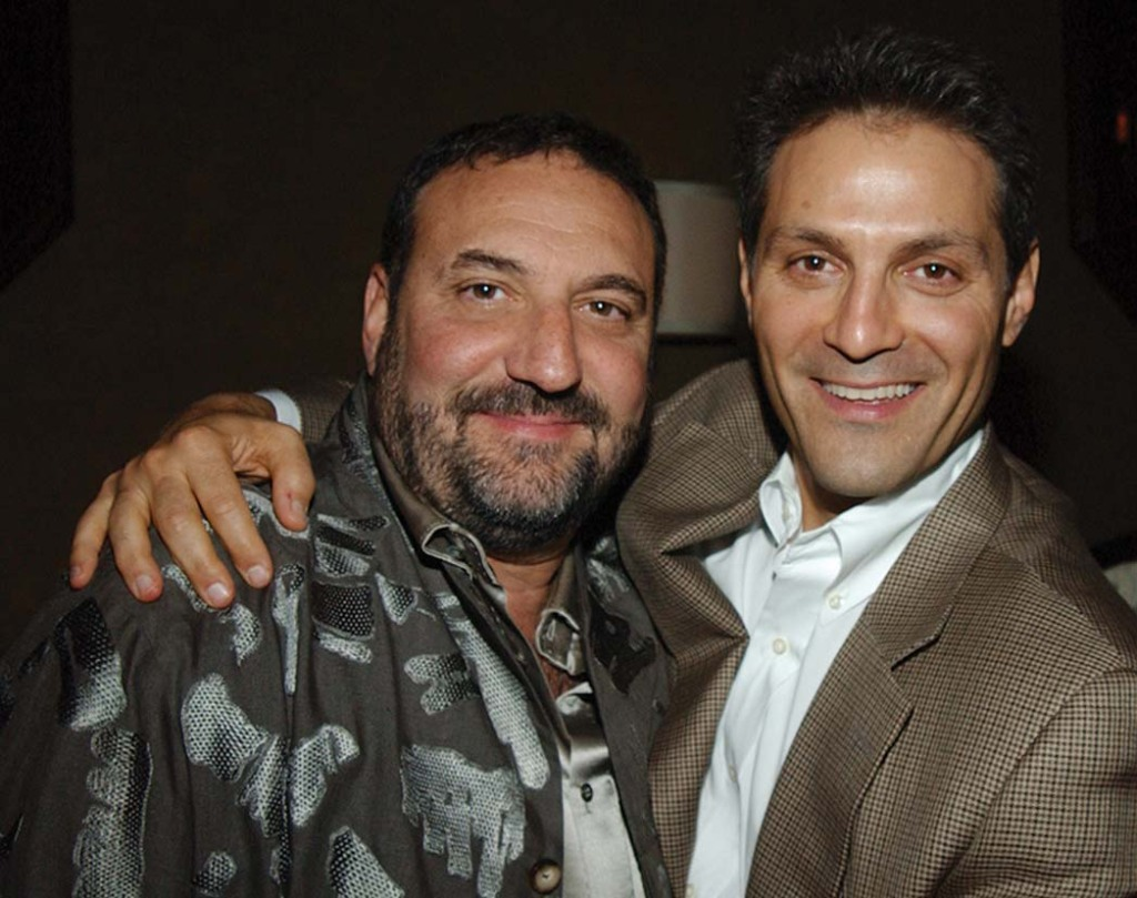 Silver (left) and Emanuel in 2004. Sources say Emanuel is grateful that Silver was an early TV client of Endeavor and that Silver consoled him during a difficult divorce.