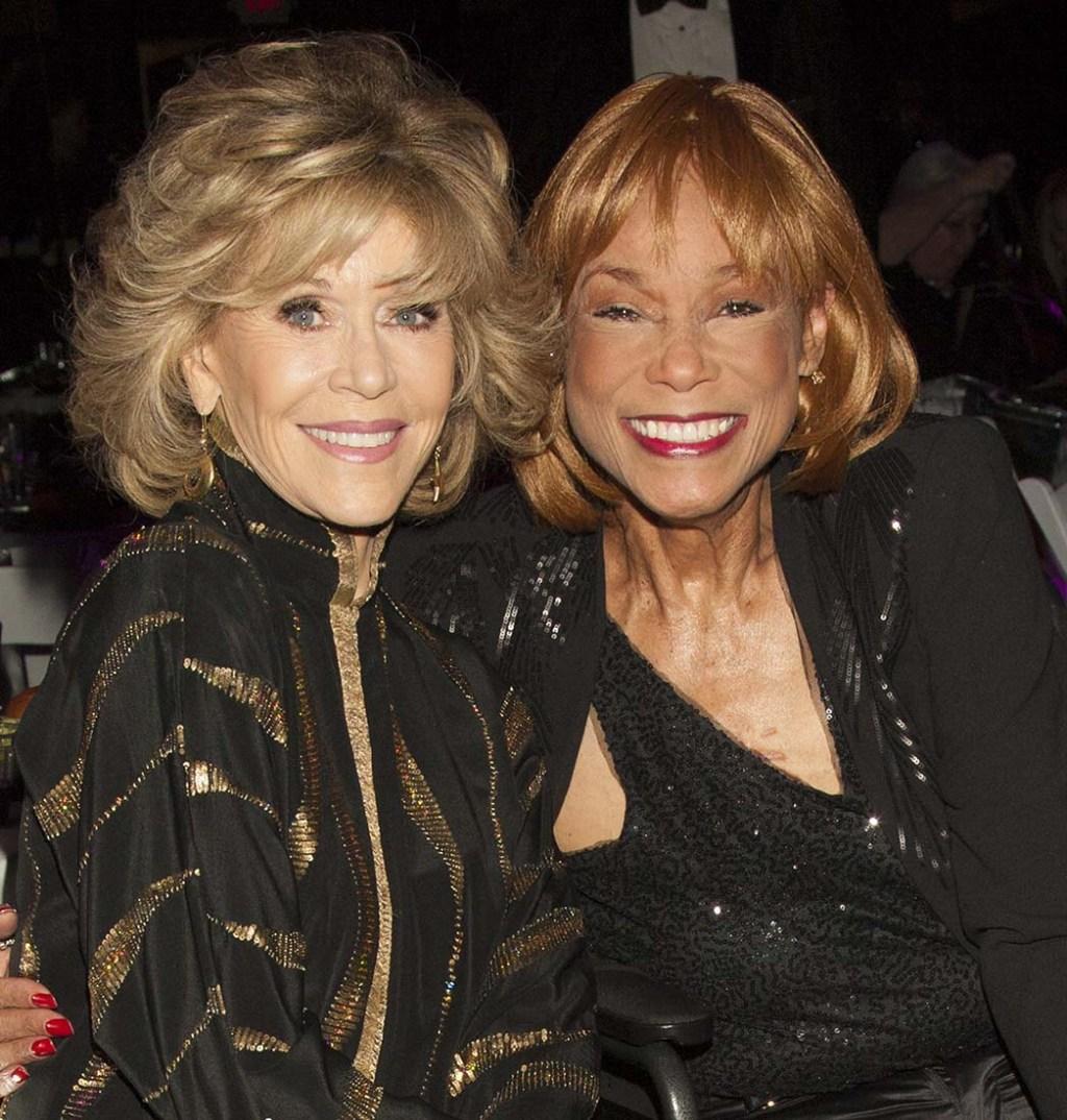 Jane Fonda and Bernadine Anderson
