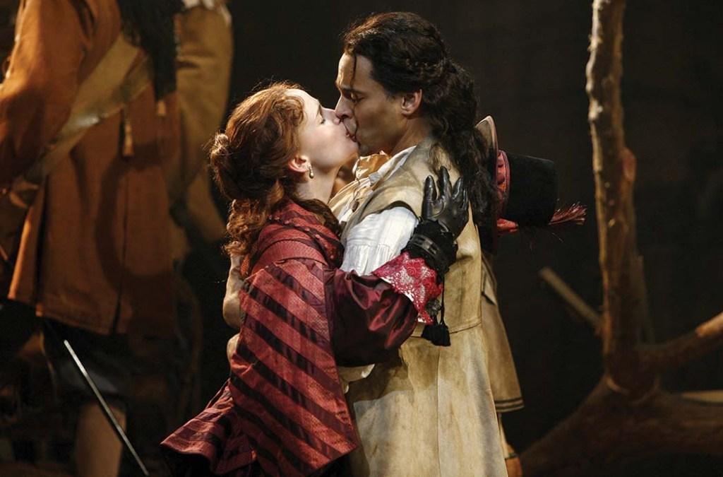 Cyrano de Bergerac -Jennifer Garner and Daniel Sunjata