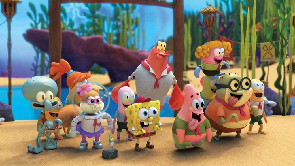 The Paramount+ original series Kamp Koral: SpongeBob's Under Years premiered March 4.