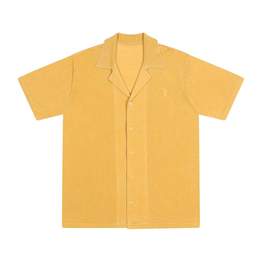 4 Basic Rights' Camp Collar knitted shirt, $145, basicrights.com