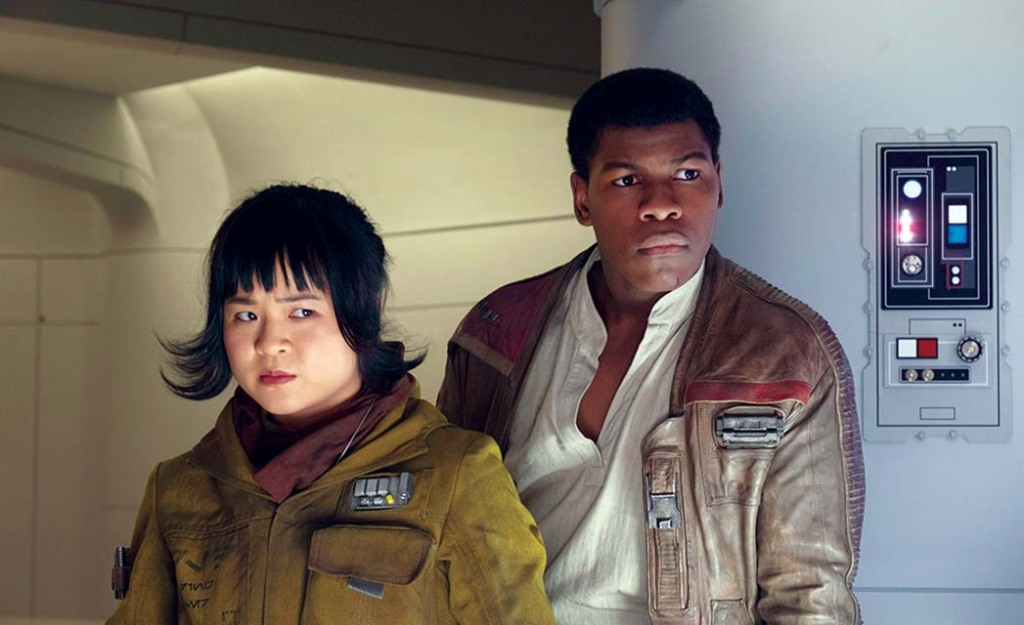 STAR WARS THE LAST JEDI - Kelly Marie Tran, John Boyega
