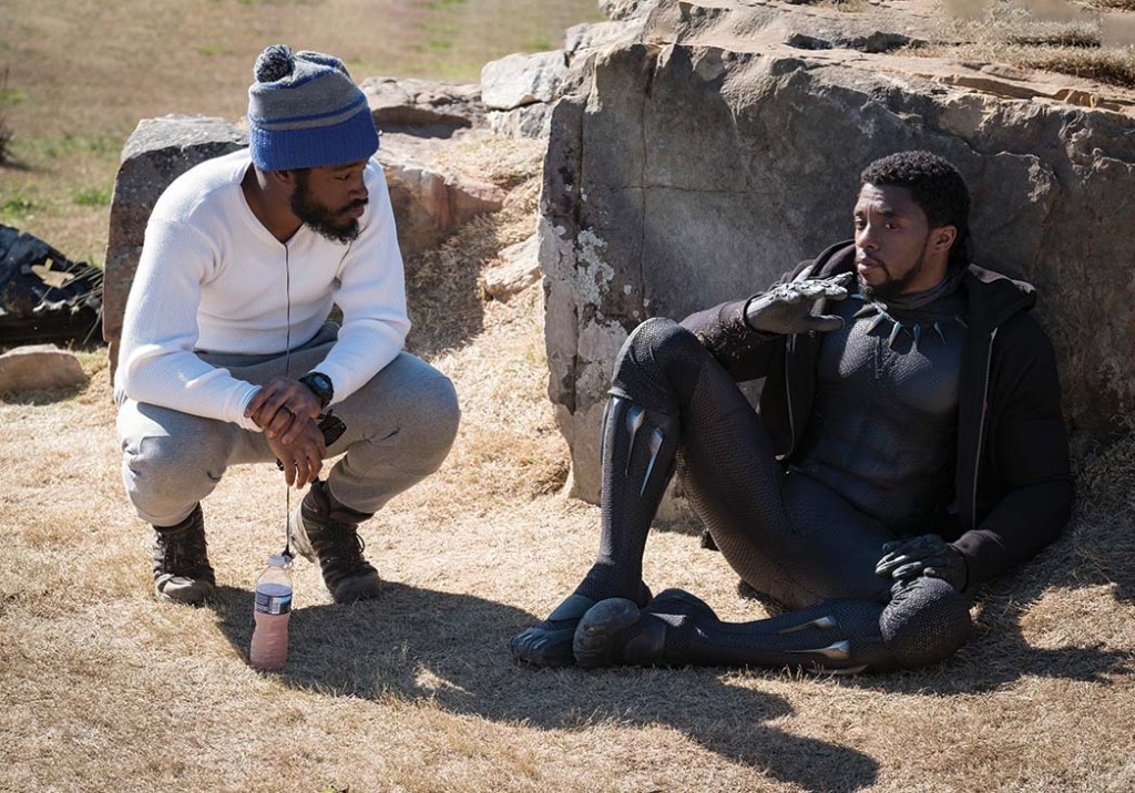 "Coogler (left, with Chadwick Boseman) at the helm of Marvel's 2018 Black Panther, the highest-grossing film ever from a Black director. Says Coogler of Boseman's colon cancer diagnosis and death in August: ""I didn't know what was going on. I knew what he wanted me to know. I miss him in every way that you could miss somebody, as a friend, as a collaborator."""