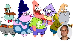 Patrick Star Show with an inset of Brian Robbins
