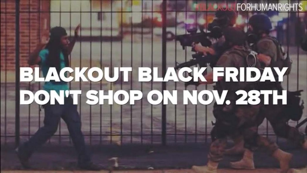 Shaka King directed a viral video promoting a Black Friday retail boycott.