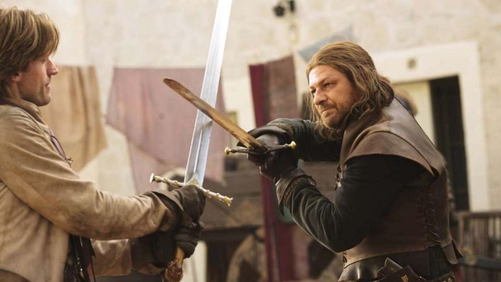 Games of Thrones Ned Stark vs Jaime Lannister