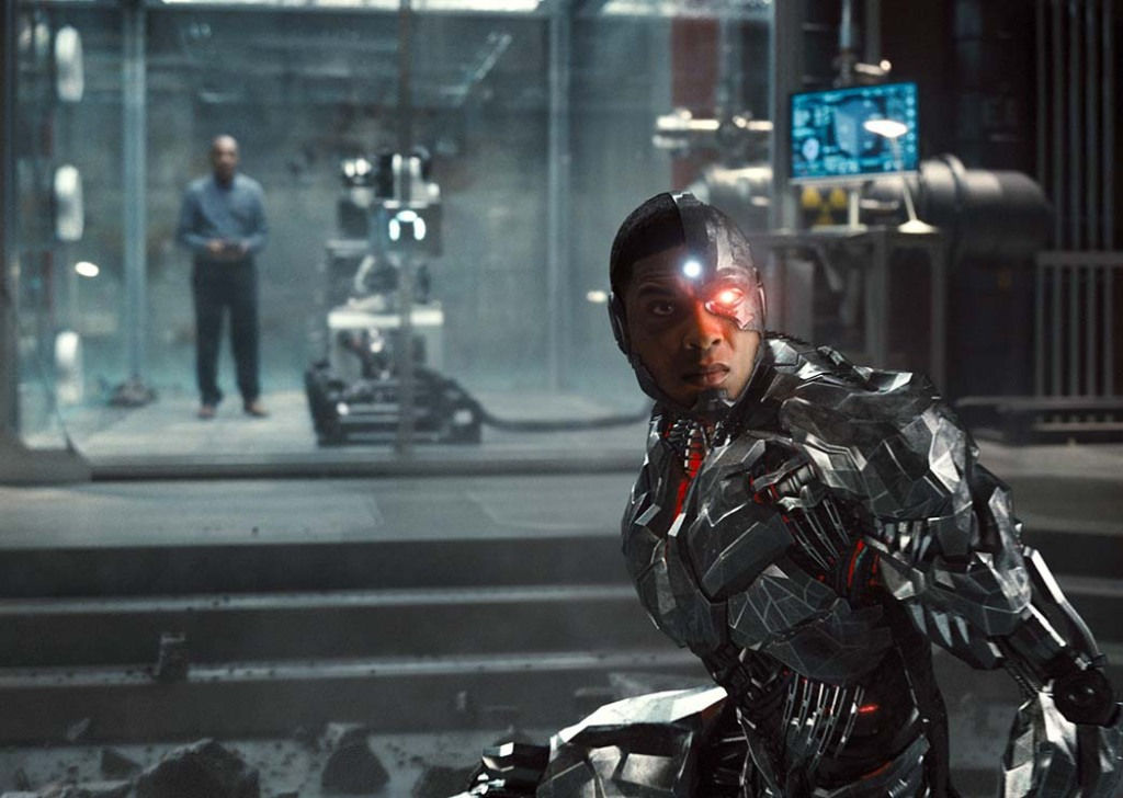 Justice League - Joe Morton and Ray Fisher