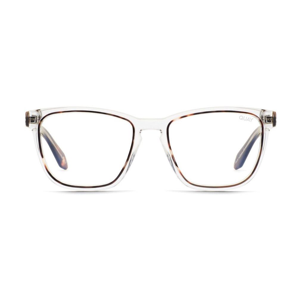 Quay Hardwire Two-Tone Blue Light Glasses