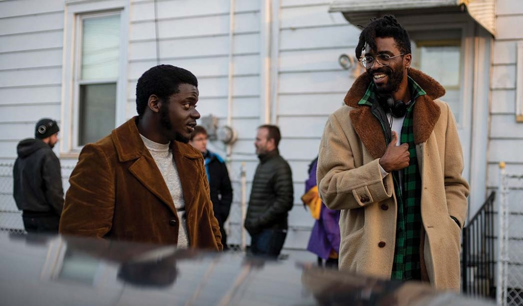 Daniel Kaluuya (left, with Shaka King) is nominated for best supporting actor for his role as Chicago Black Panther Party chairman Fred Hampton.