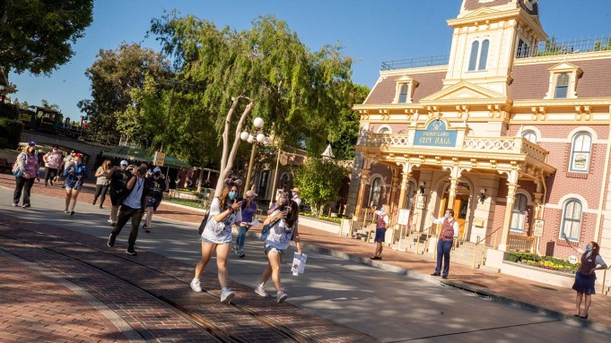 Guests Arrive on Main Street U.S.A.