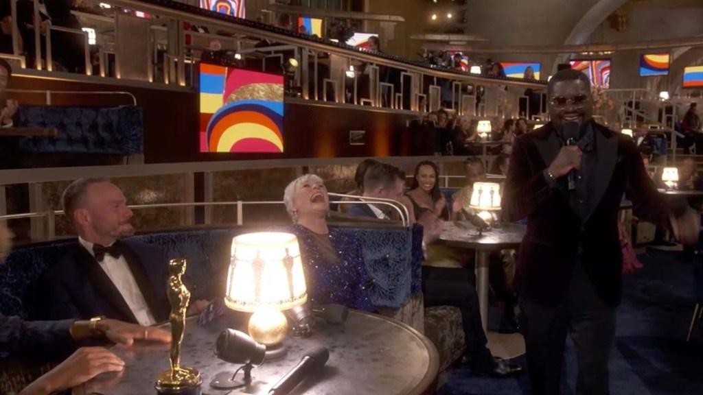 GLENN CLOSE, LIL REL HOWERY -93rd Annual Academy Awards