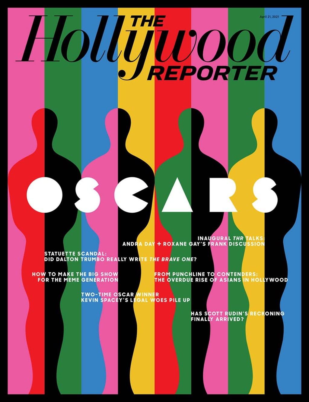 The Hollywood Reporter Issue 15 Cover- Illustration By Olimpia Zagnoli