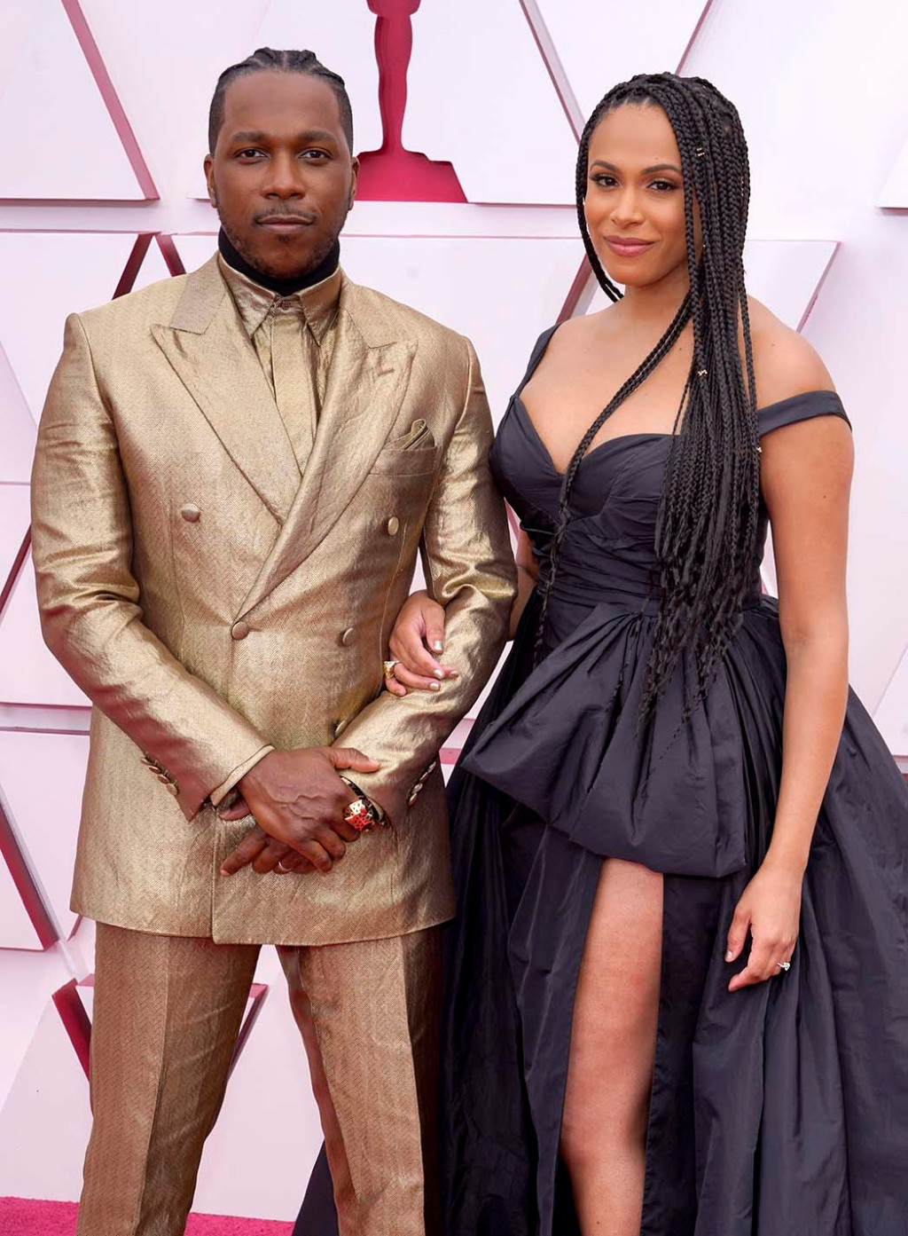 Leslie Odom Jr., left, and Nicolette Robinson