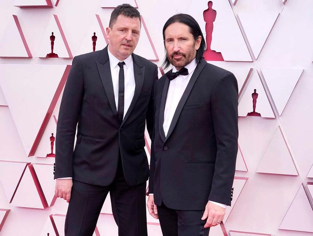 Atticus Ross, left, and Trent Reznor