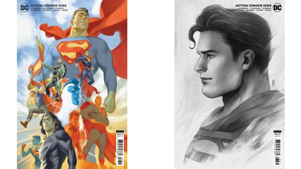 'Action Comics #1033' by Phillip Kennedy Johnson and artist Daniel Sampere.