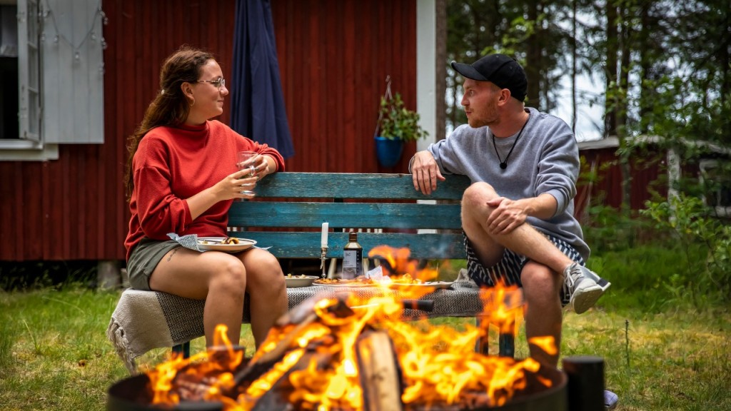 Danish dating format 'Alone Together' puts strangers together on a socially distanced island in northern Scandinavia.