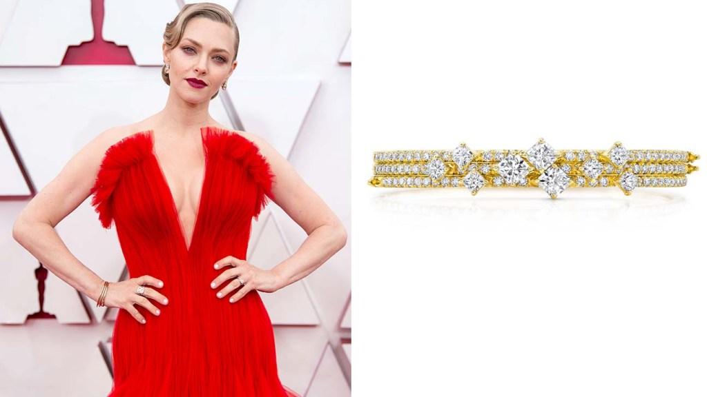 Jewelry at the Oscars - Amanda Seyfried