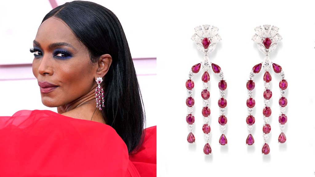 Jewelry at the Oscars Angela-Bassett