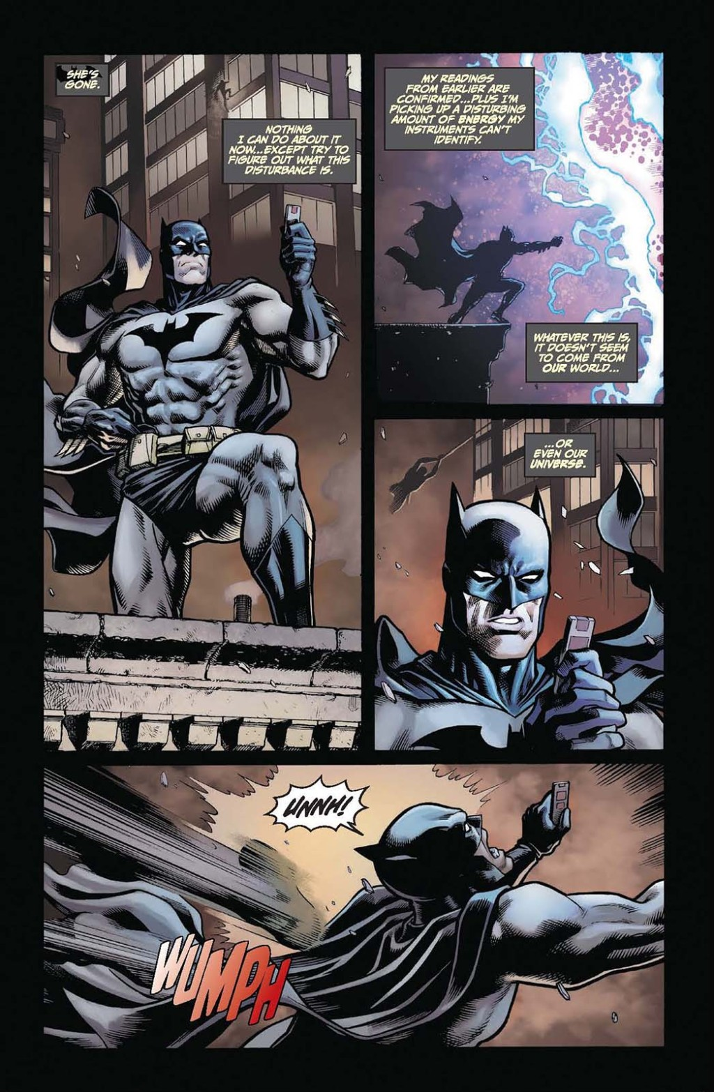 Batman/Fortnite: Zero Point comic page