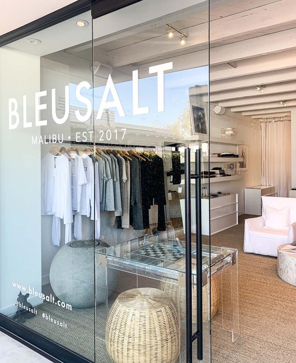 The new Bleusalt store in Malibu
