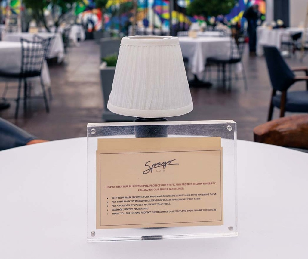 Wolfgang Puck's Spago Guidelines