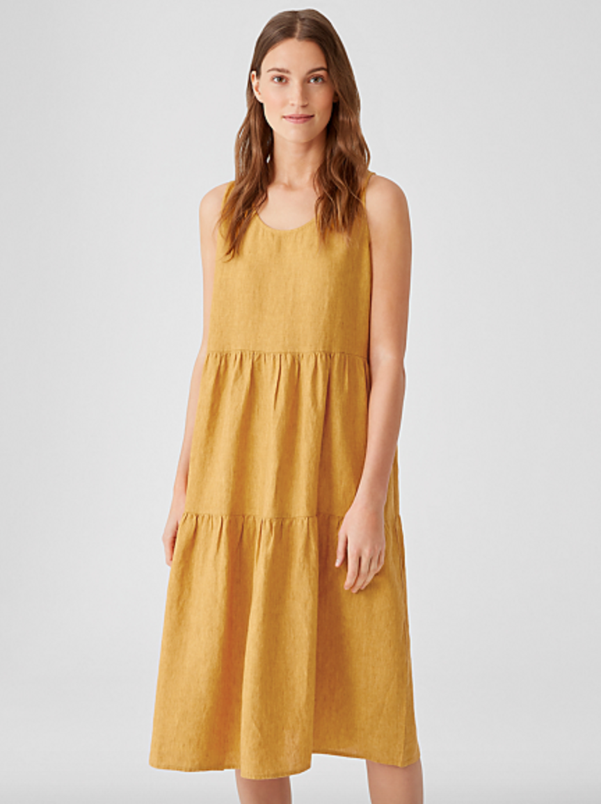 Eileen Fisher - Sustainable Fashion - Delave Dress