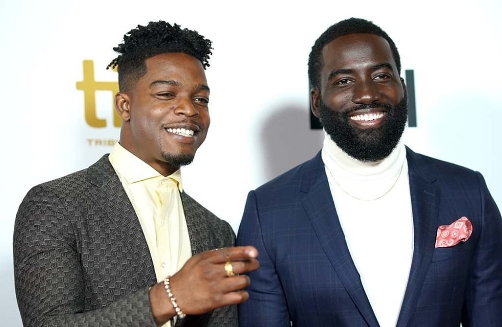 Stephan James and Shamier Anderson