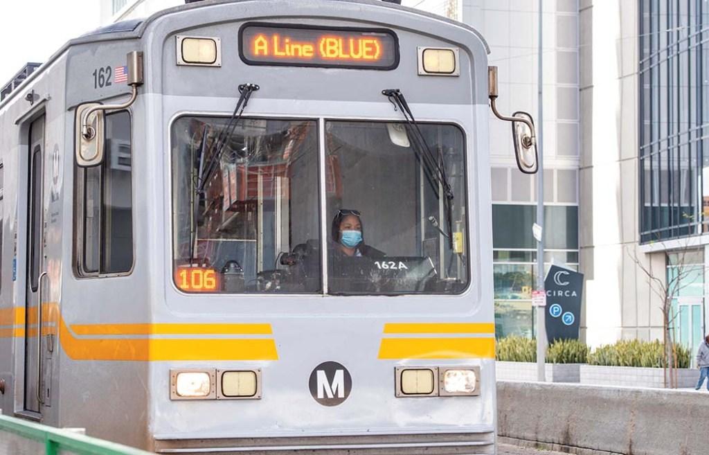L.A. Metro Rail service will continue to run.