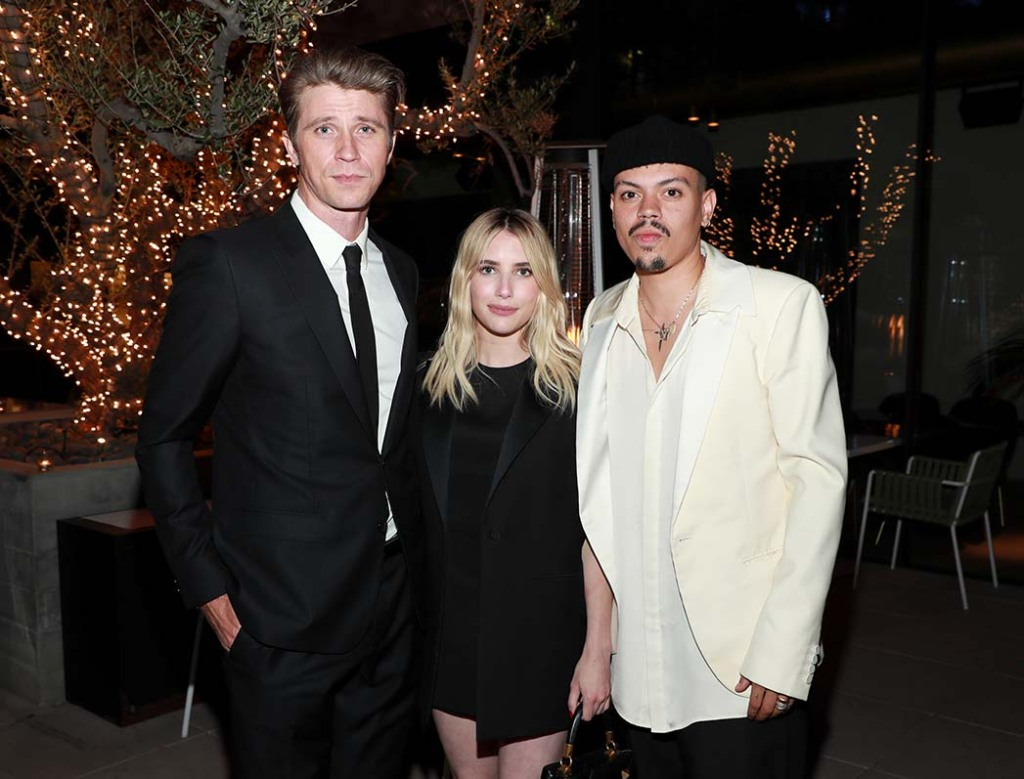 Garrett Hedlund, Emma Roberts and Evan Ross
