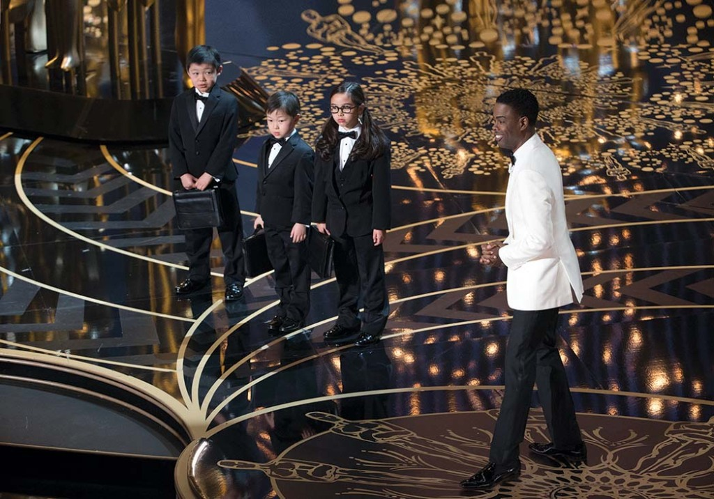 In 2016, host Chris Rock joked about Asian kids and math during the #OscarsSoWhite ceremony.